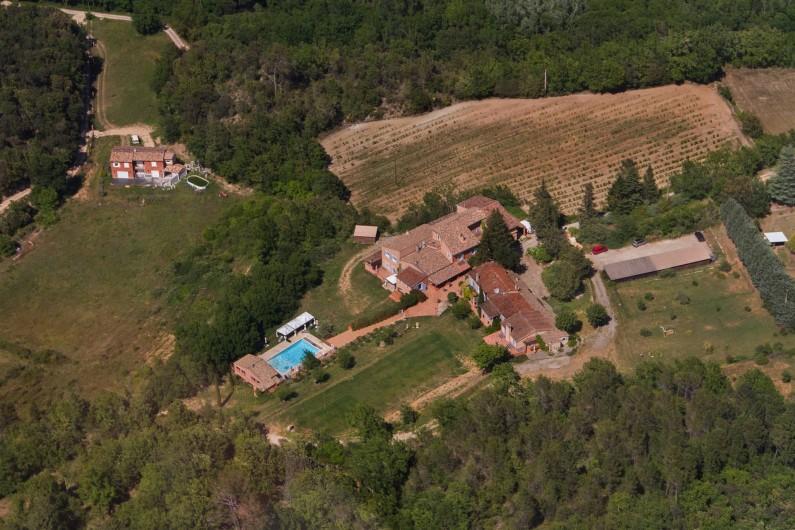 Location de vacances - Gîte à Chateauvert - Vue aérienne