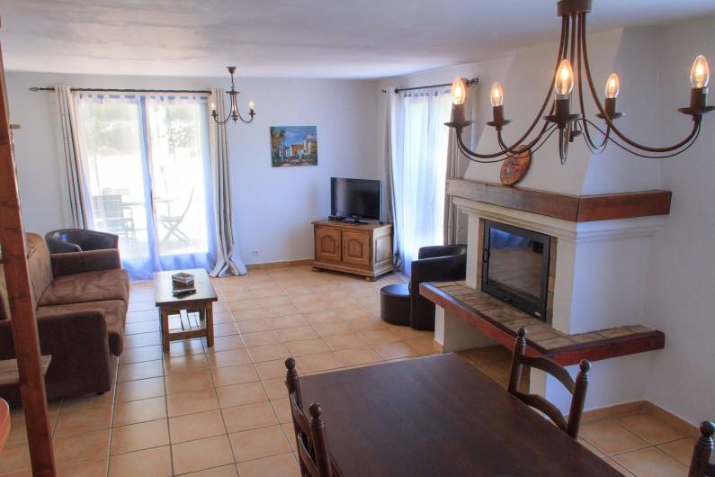 Location de vacances - Gîte à Chateauvert - Salon