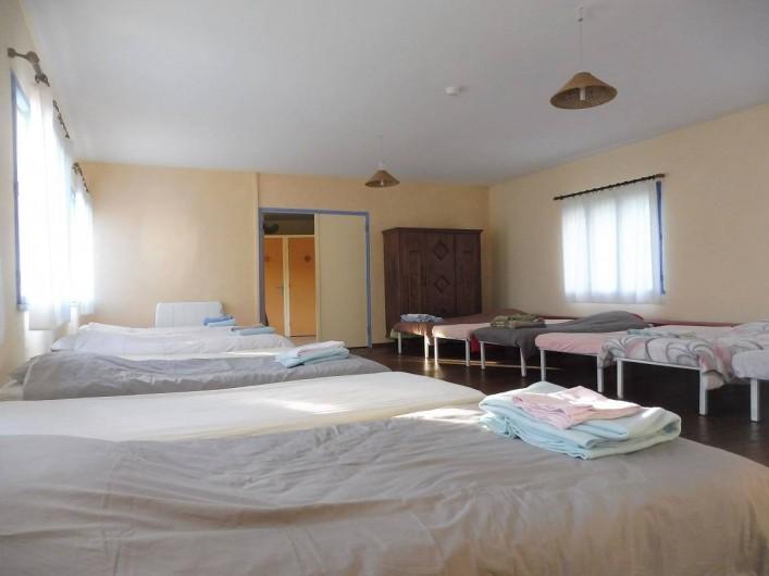 Location de vacances - Gîte à Vernoux-en-Vivarais - Le dortoir