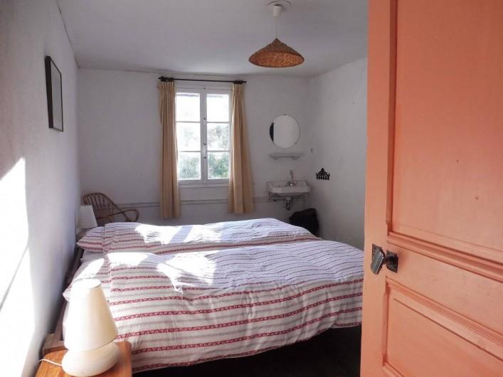 Location de vacances - Gîte à Vernoux-en-Vivarais - L'une des chambres doubles