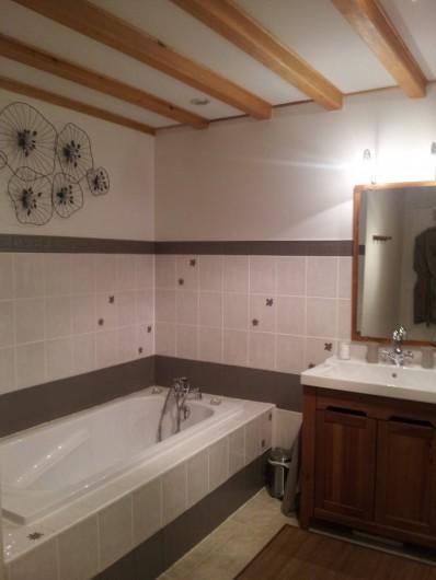 Location de vacances - Chambre d'hôtes à Ardin - Salle de bain chambre 1