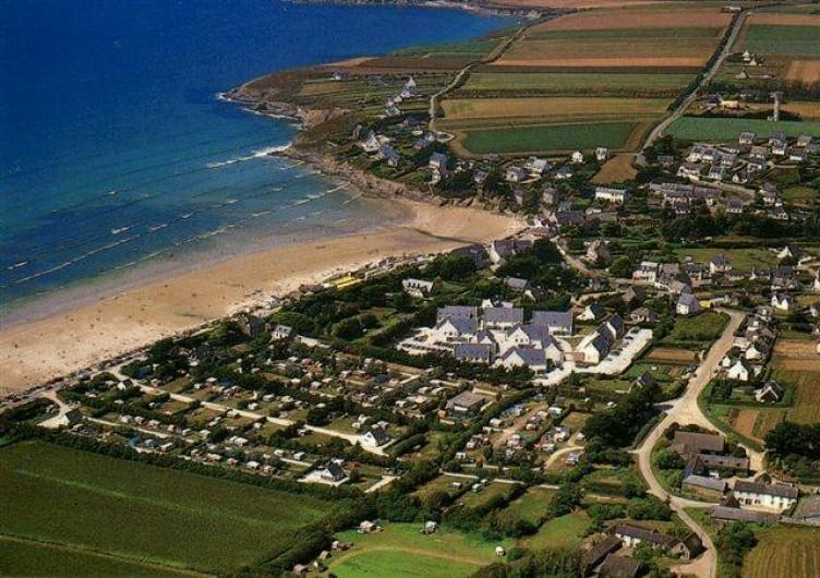 Location de vacances - Appartement à Pentrez - Pentrez plage une vue de la plage et de la résidence