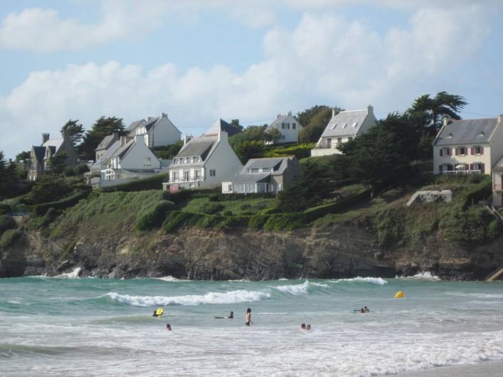 Location de vacances - Appartement à Pentrez - La mer à marée haute