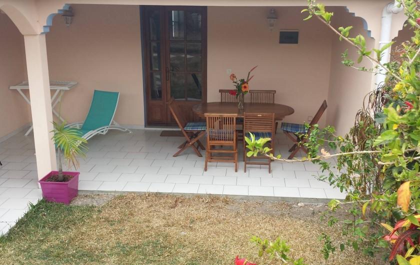 Location de vacances - Maison - Villa à Le Diamant - terasse