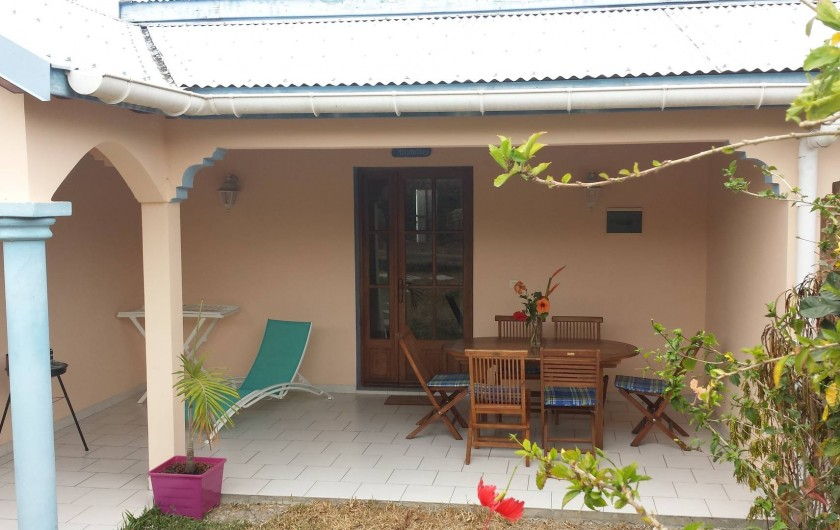 Location de vacances - Maison - Villa à Le Diamant - terrasse