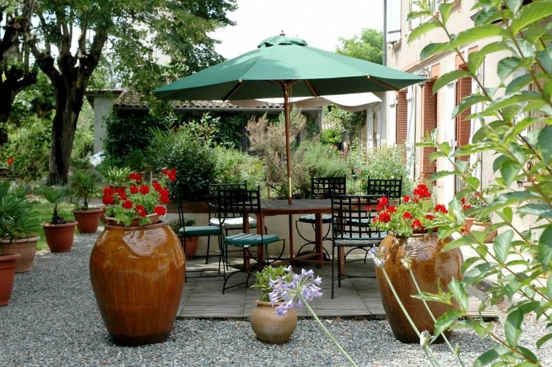 Location de vacances - Chambre d'hôtes à Saint-Thomas - Terrasse
