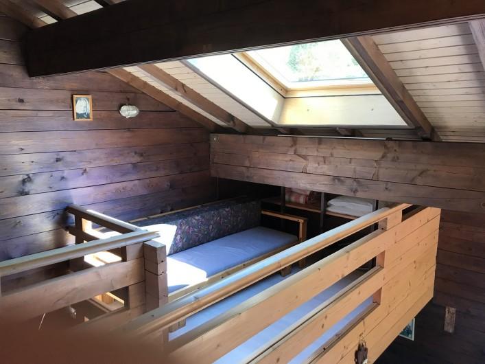 Location de vacances - Chalet à La Bresse - Canapé-lit de la mezzanine