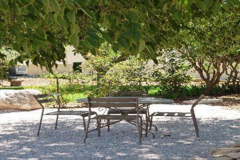 Location de vacances - Gîte à Gémenos - Extérieur si vous logez dans le T2