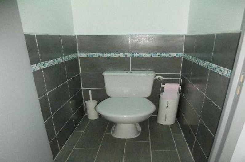 Location de vacances - Gîte à Gémenos - WC indépendant T2 / 1er étage