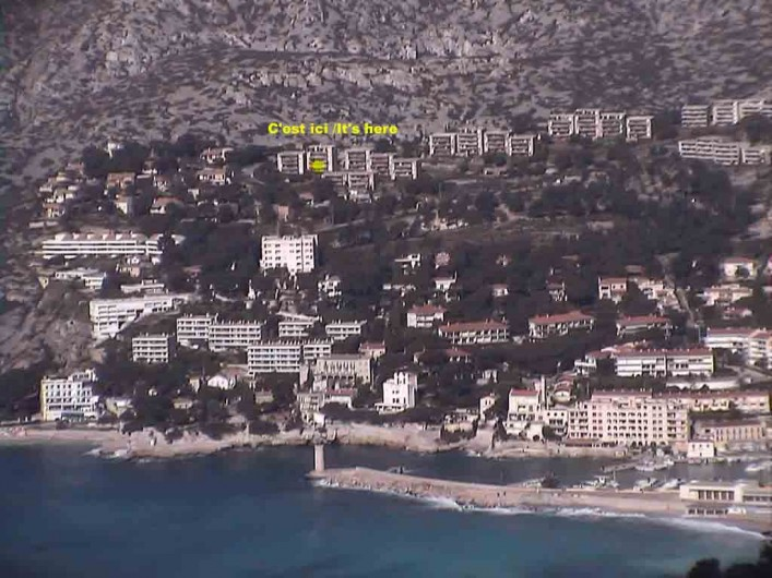 Location de vacances - Appartement à Cassis - la résidence à 10 mn à pied du port, 3 mn en voiture...