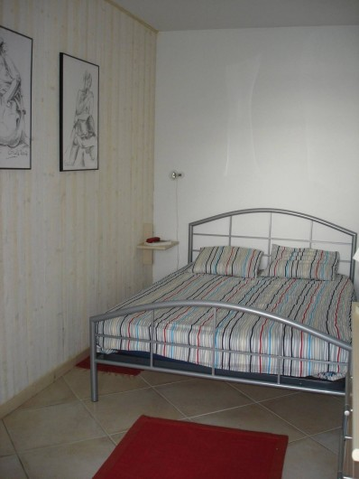 Location de vacances - Appartement à Cassis - La chambre principale