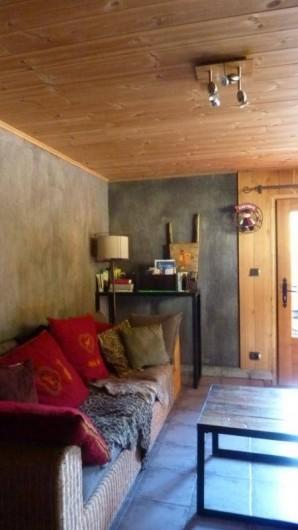 """Location de vacances - Chalet à Lanslevillard - Appartement """"L'atelier"""""""