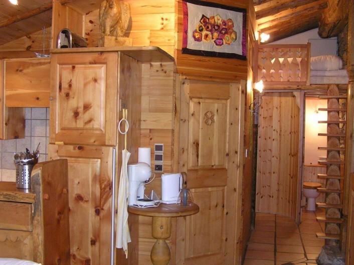 """Location de vacances - Chalet à Lanslevillard - Appartement """"Montagne"""""""