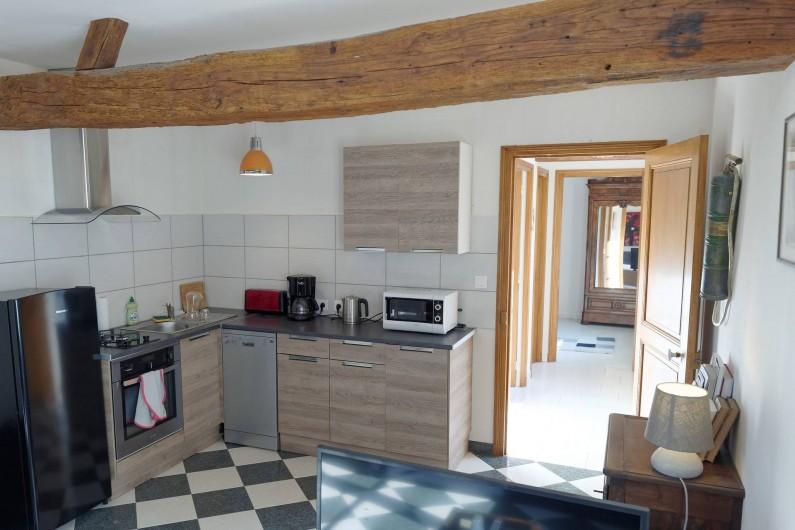 Location de vacances - Appartement à Saint-Dyé-sur-Loire - Cuisine Américaine
