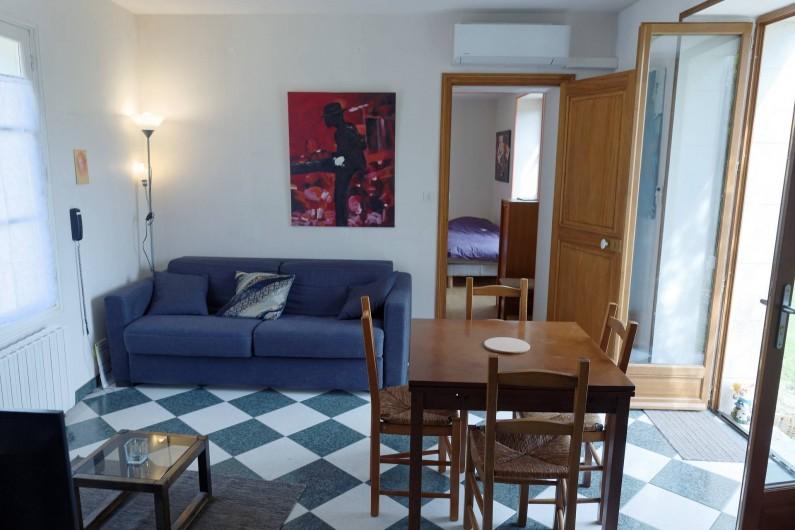 Location de vacances - Appartement à Saint-Dyé-sur-Loire - Salon
