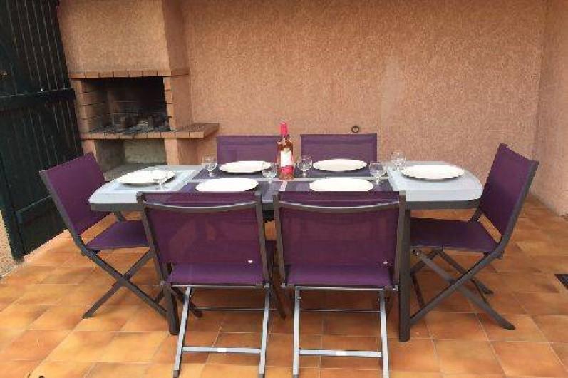 Location de vacances - Villa à Saint-Cyprien - La terrasse