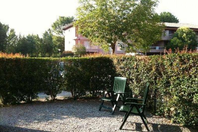 Location de vacances - Villa à Saint-Cyprien - Le jardin