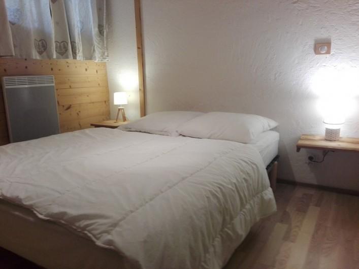 Location de vacances - Appartement à Peisey-Nancroix - La chambre familiale