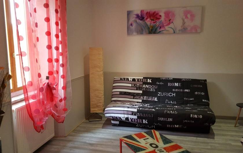 Location de vacances - Appartement à Pomas - suite salon