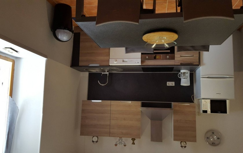 Location de vacances - Appartement à Pomas - Cuisine équipe