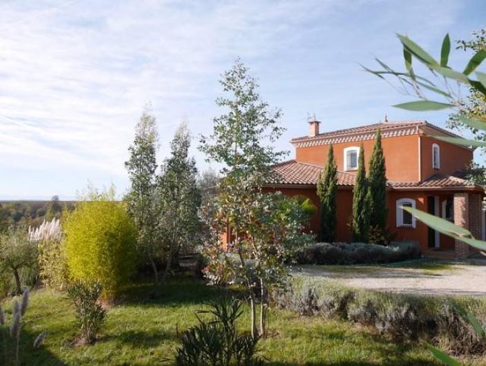 Location de vacances - Villa à Castin - La villa côté Nord