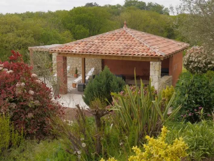 Location de vacances - Villa à Castin - Pool house