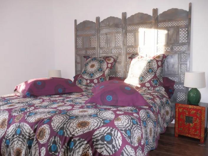 Location de vacances - Villa à Castin - Chambre à l'étage