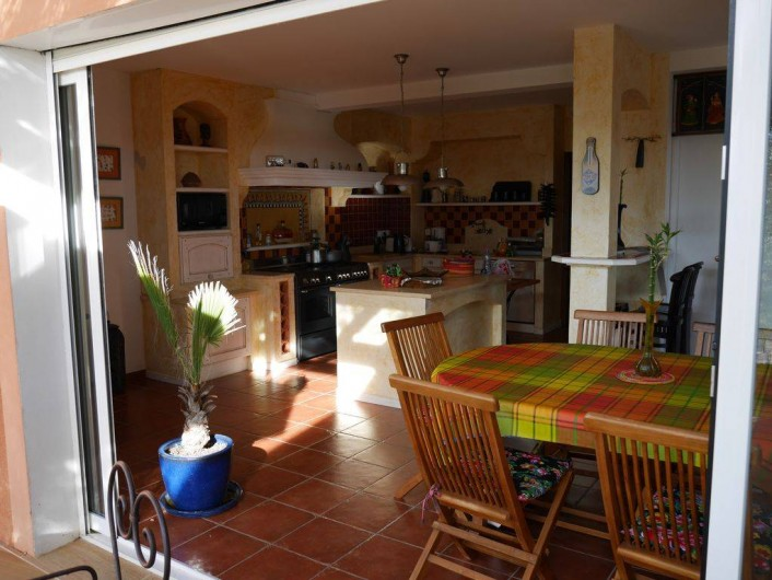 Location de vacances - Villa à Castin - Salle à manger