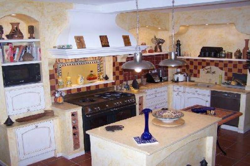Location de vacances - Villa à Castin - La cuisine provençale