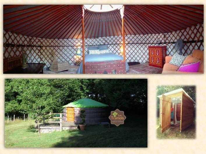 Location de vacances - Gîte à Donzy - Yourte