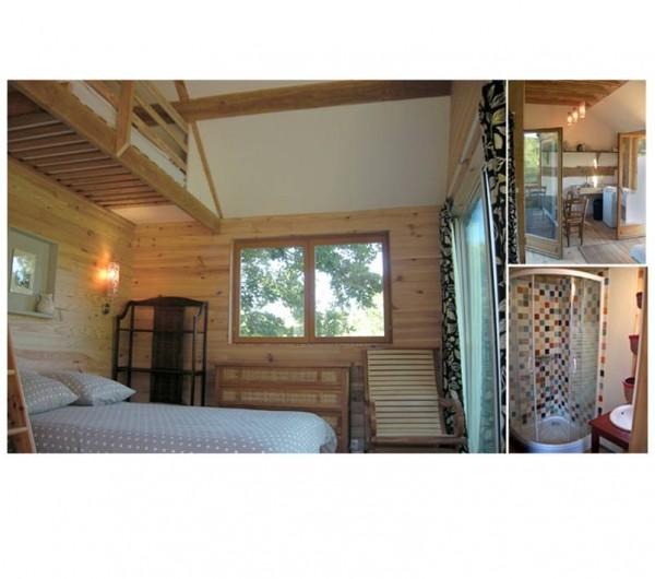 Location de vacances - Gîte à Donzy - Cabane perchée tout confort