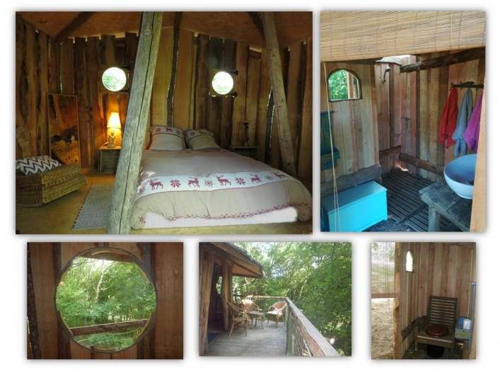 Location de vacances - Gîte à Donzy - Cabane chambre d'hôte