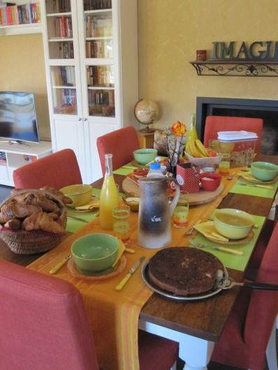 Location de vacances - Chambre d'hôtes à Soulac-sur-Mer - Soulac'Ouette - Petit-déjeuner complet intérieur