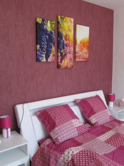 Location de vacances - Chambre d'hôtes à Soulac-sur-Mer - Soulac'Ouette -Chambre Côté Vignes