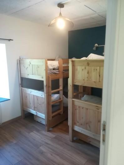 Location de vacances - Appartement à Charvonnex - chambre Salève