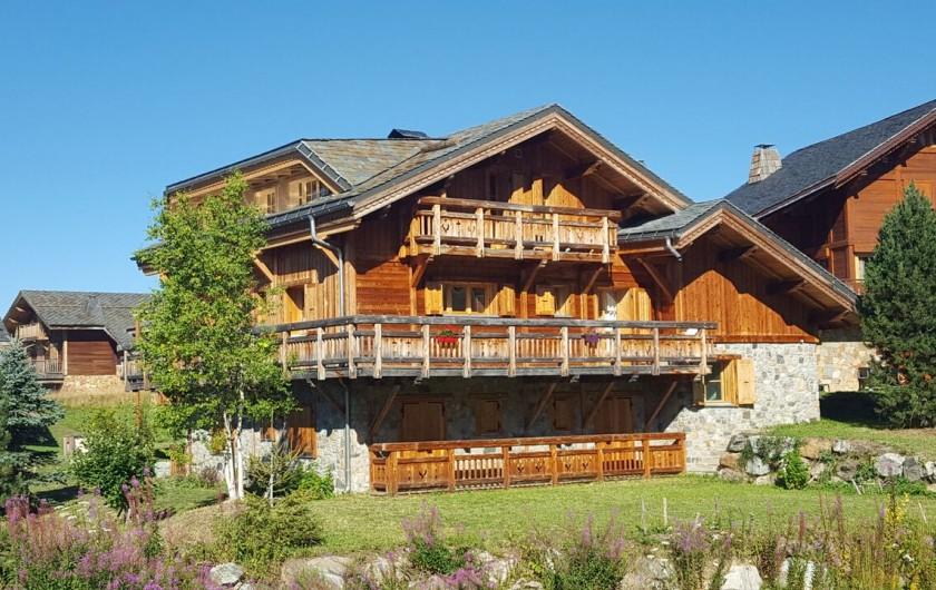 Location de vacances - Chalet à L'Alpe d'Huez - Eté côté Sd
