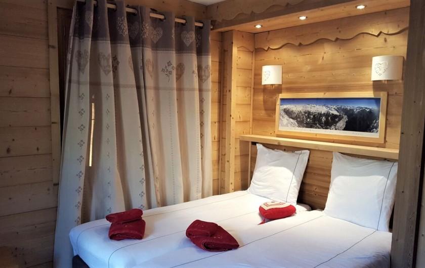 Location de vacances - Chalet à L'Alpe d'Huez - chambre