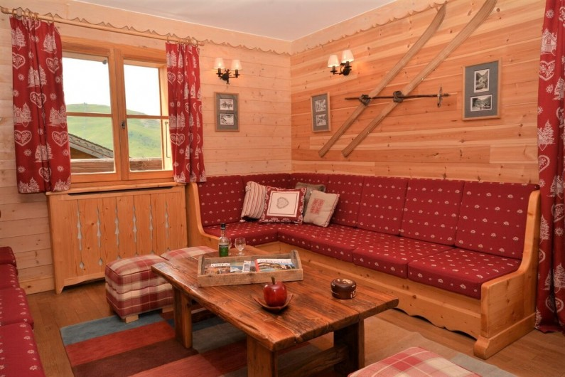 Location de vacances - Chalet à L'Alpe d'Huez - Salon