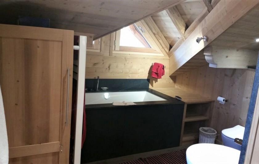 Location de vacances - Chalet à L'Alpe d'Huez - autre vue salle de bain