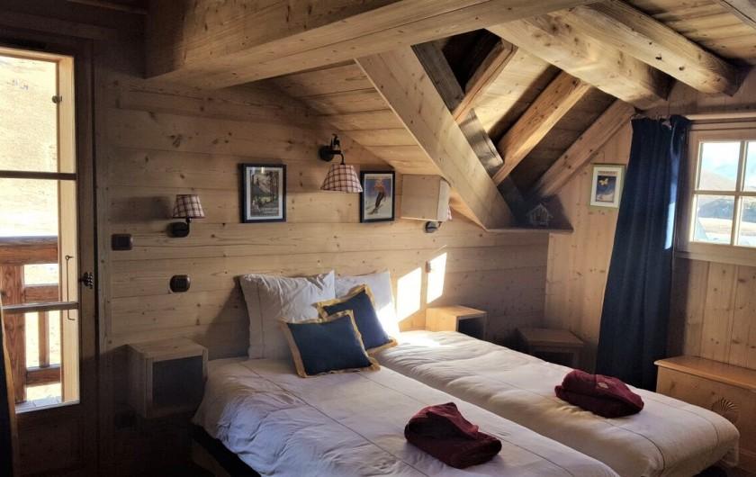 Location de vacances - Chalet à L'Alpe d'Huez - Chambre double
