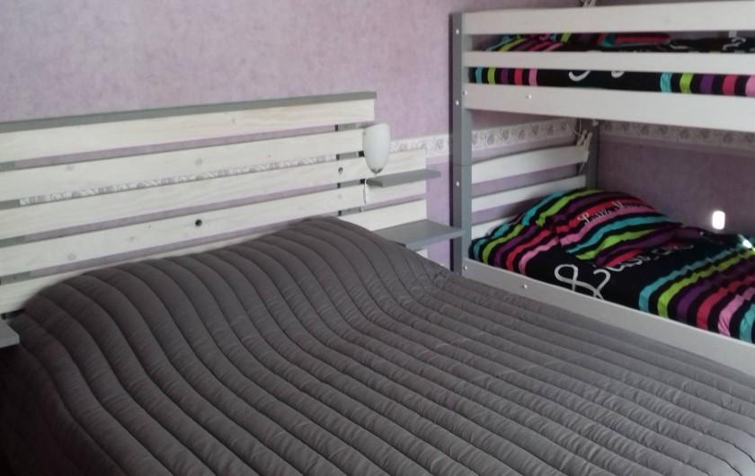 Location de vacances - Appartement à Corcieux - chambre 2