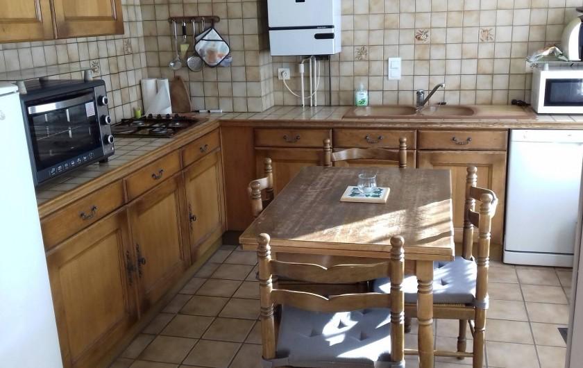 Location de vacances - Appartement à Corcieux - coin cuisine
