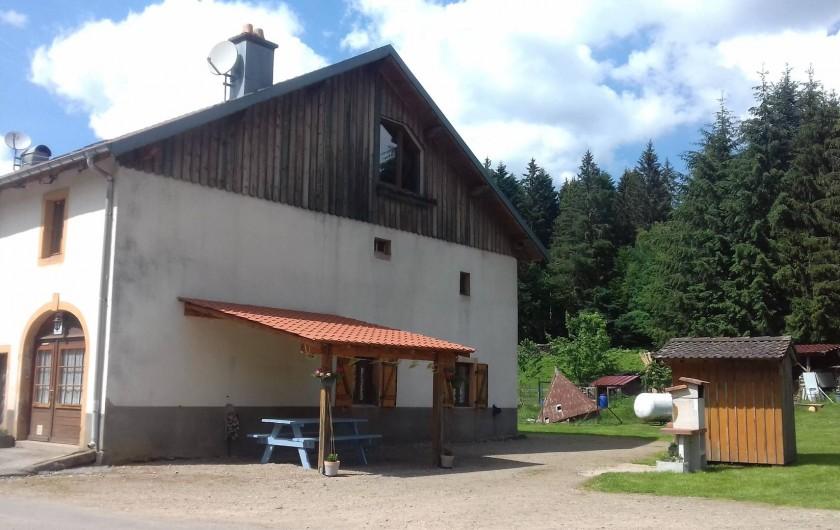 Location de vacances - Appartement à Corcieux - gite extérieur