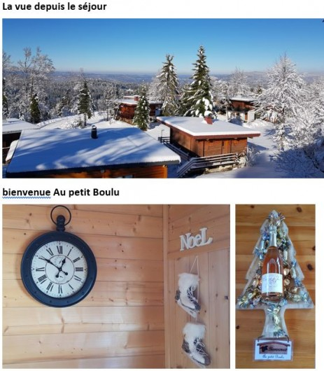 Location de vacances - Chalet à Prémanon - Bienvenue