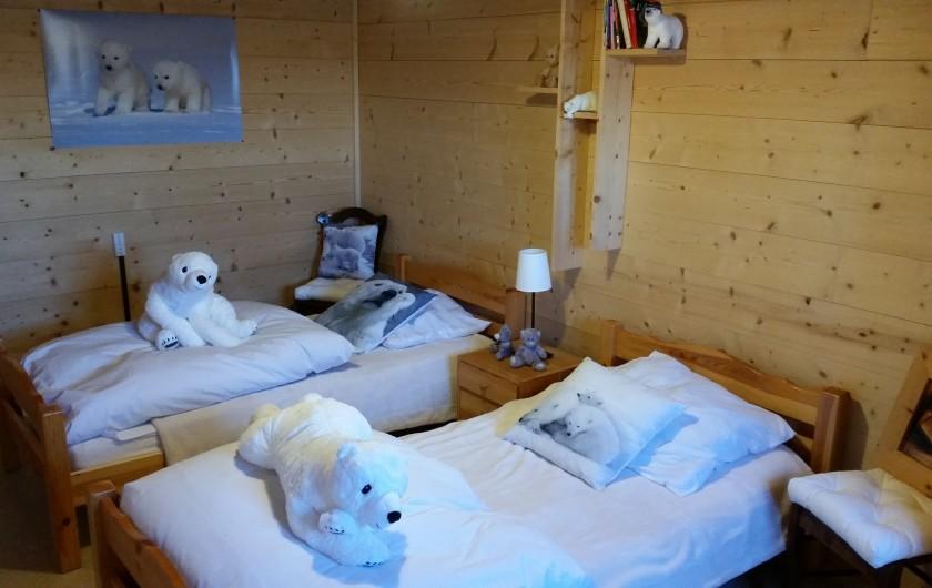 Location de vacances - Chalet à Prémanon - la chambre des oursons