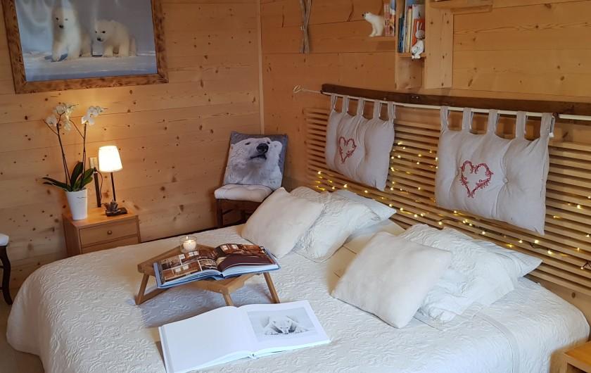 Location de vacances - Chalet à Prémanon - LA CHAMBRE OURS