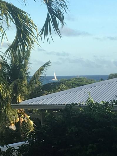 Location de vacances - Villa à Saint-François - voilier sur la mer