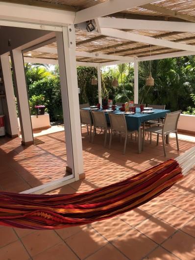 Location de vacances - Villa à Saint-François - coin hamac