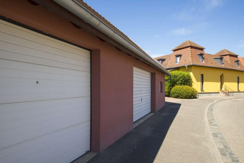 Location de vacances - Maison - Villa à Rosheim - Garage fermé à disposition pouvant accueillir un break ou grande remorque