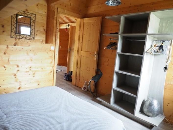 Location de vacances - Chalet à La Pesse - chambre 3 un lit double